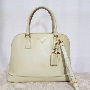 Prada Saffiano 2 way Bag